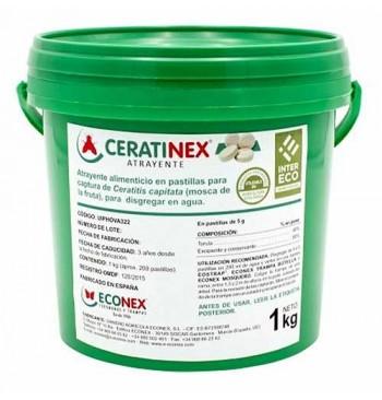 CERATINEX Atrayente en pastillas para Ceratitis capitata 1kg