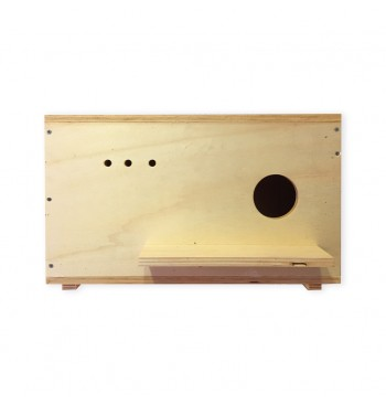 Caja nido de madera para cernícalo primilla