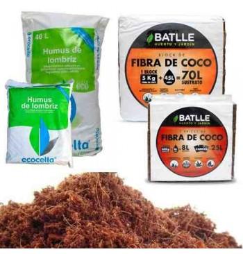 Pack sustrato para mesas de cultivo Hortalia