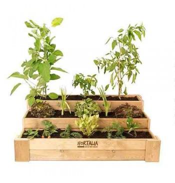 Mesas hortalia biohuerto for Mesas de cultivo urbano