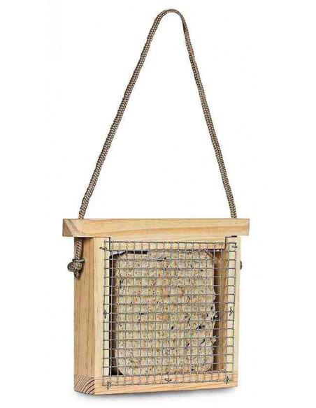 Comedero de madera modelo Cesta en kit