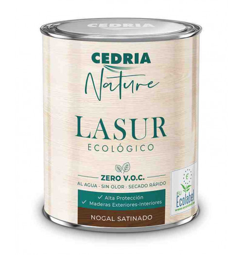 Barniz ecológico Cedria Nature Lasur 4L