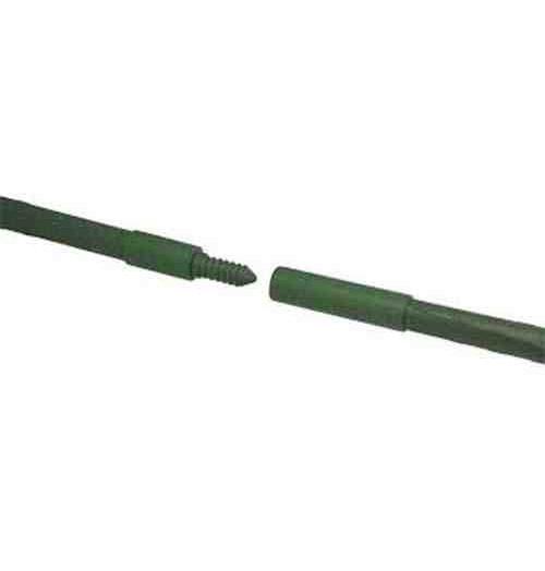 Tutor prolongable de acero plastificado 60cm