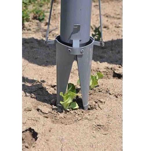 Plantadora doble mango punta reforzada