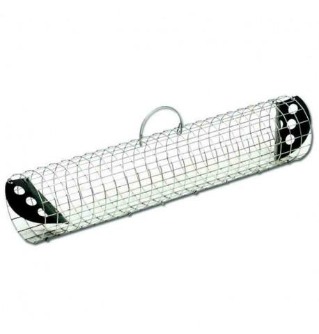 Trampa tubo para captura de conejos