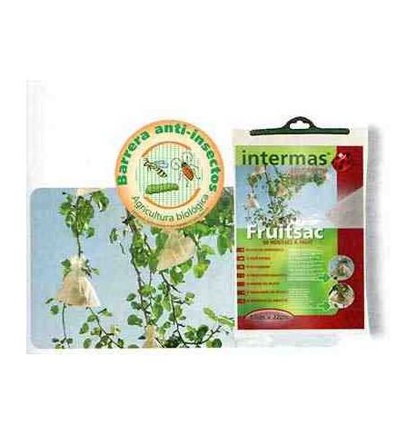 Fruitsac. Protectores para frutas 17x22cm 50 unid.