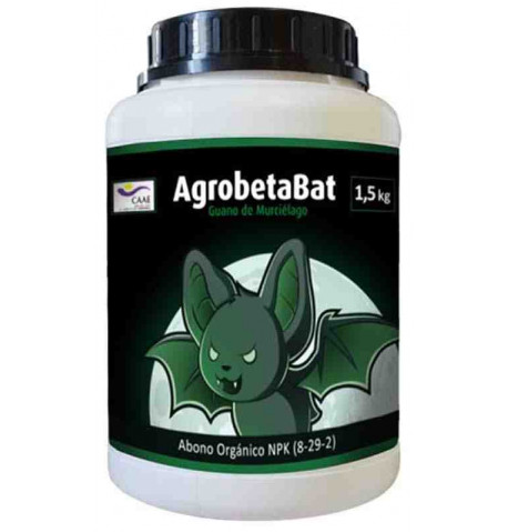 AgrobetaBat Guano granulado