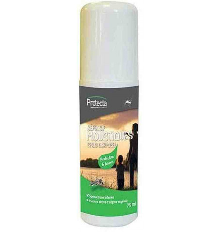 Spray corporal antimosquitos 75ml Protecta