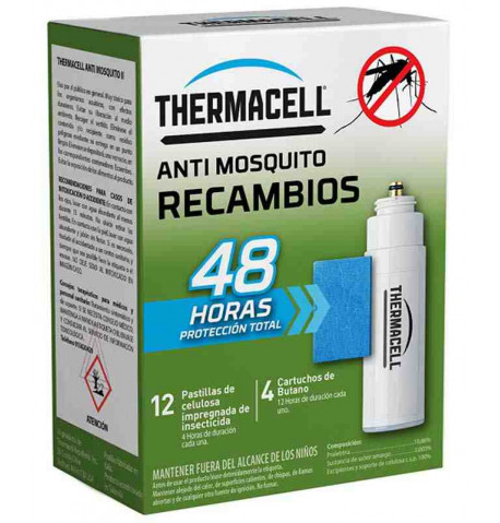 Thermacell recambio 48h