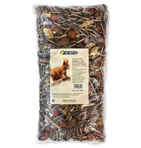 Grana-E Mezcla de frutos y semillas para ardillas silvestres