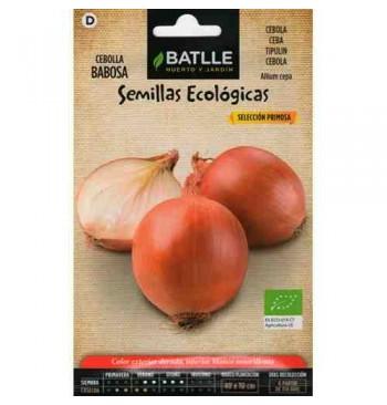 Cebolla babosa ecológica 100g