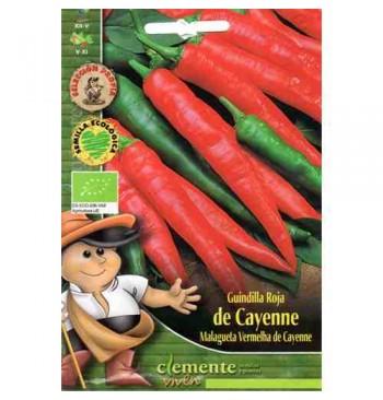Guindilla roja Cayenne ecológica 1g
