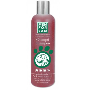 Champú natural repelente con extracto de Neem 300ml