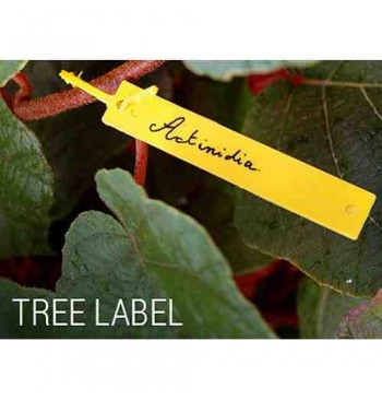 Etiquetas para plantación 10,7cm con brida 40 unid.